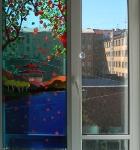 Витражи в окна